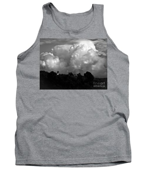 Tuscan Storm Rising From The Valley Tank Top