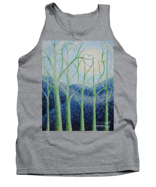 Tank Top featuring the painting Two Hearts by Holly Carmichael