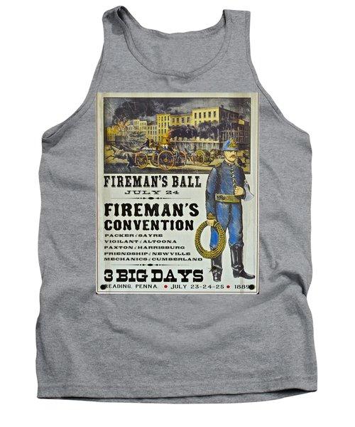 Union Fire Centennial Tank Top