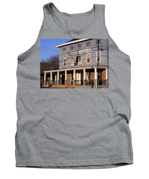 Union Hotel Tank Top by Skip Willits