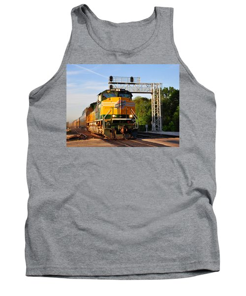 Union Pacific Chicago And North Western Heritage Unit Tank Top