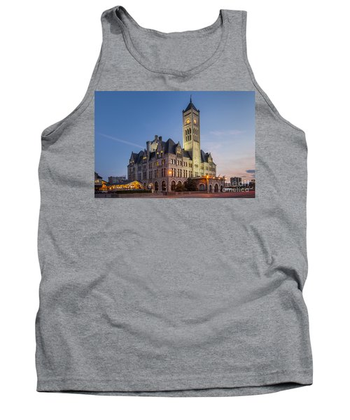 Union Station  Tank Top by Brian Jannsen