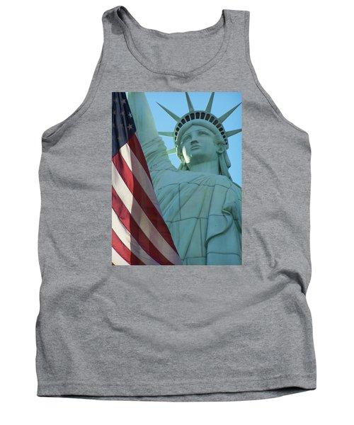 United States Of America Tank Top by Jewels Blake Hamrick