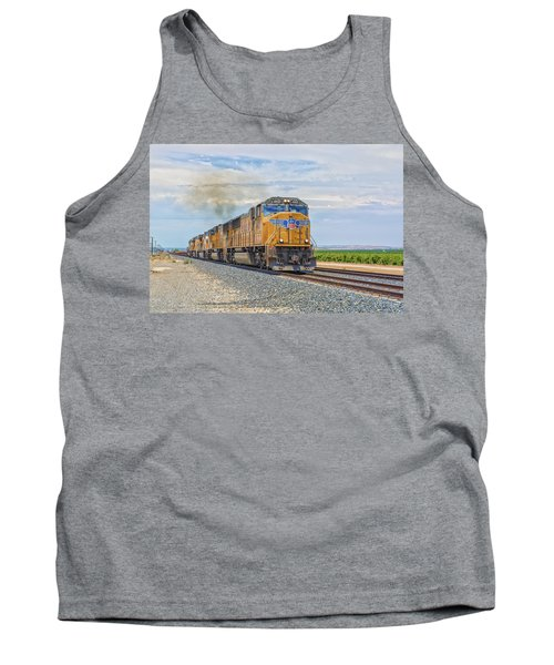 Up4421 Tank Top by Jim Thompson
