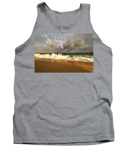 Tank Top featuring the photograph Upcoming Tropical Storm by Eti Reid