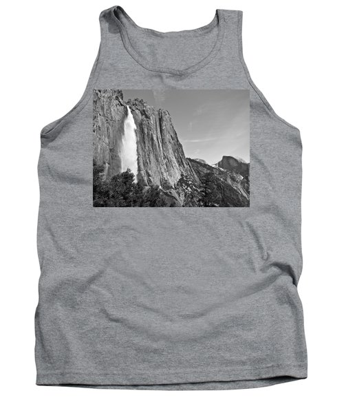 Upper Yosemite Fall With Half Dome Tank Top