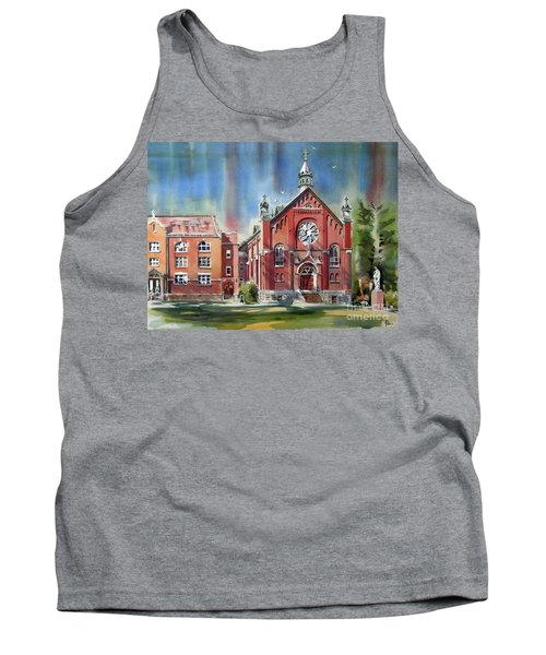 Ursuline Academy With Doves Tank Top by Kip DeVore