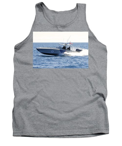 Us Customs At Work Tank Top by Shoal Hollingsworth