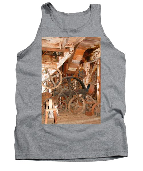 Tank Top featuring the photograph Used Parts As Art  by Brooks Garten Hauschild