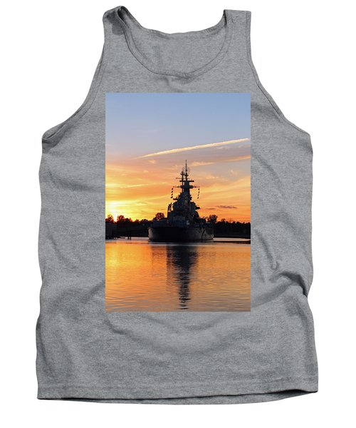 Tank Top featuring the photograph Uss Battleship by Cynthia Guinn