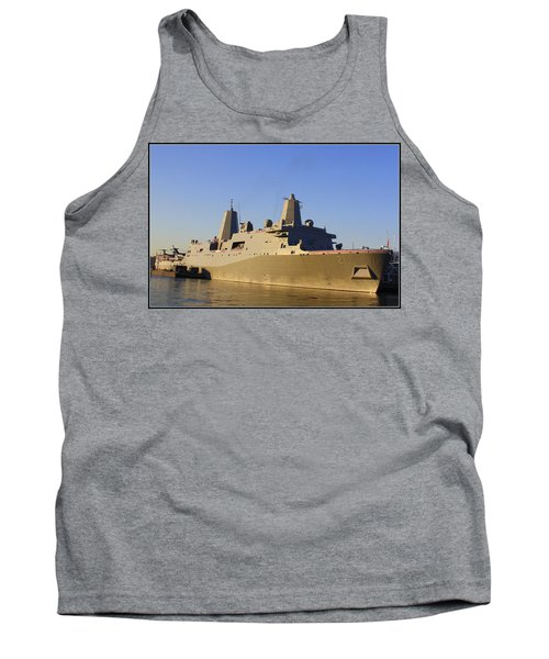 Uss New York - Lpd21 Tank Top by Dora Sofia Caputo Photographic Art and Design