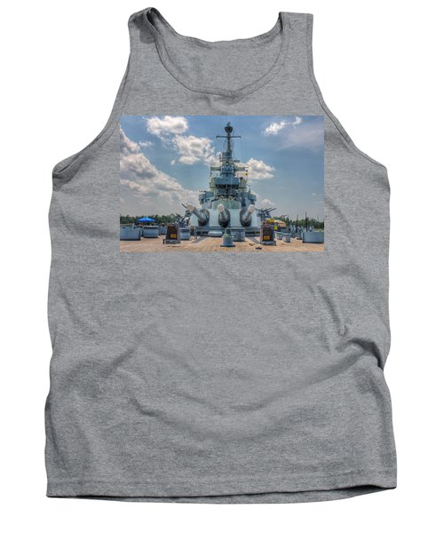 Uss North Carolina Tank Top