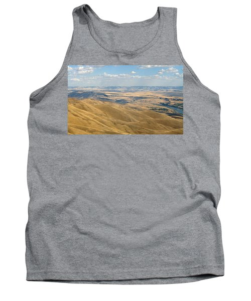 Tank Top featuring the photograph Valley View by Mark Greenberg