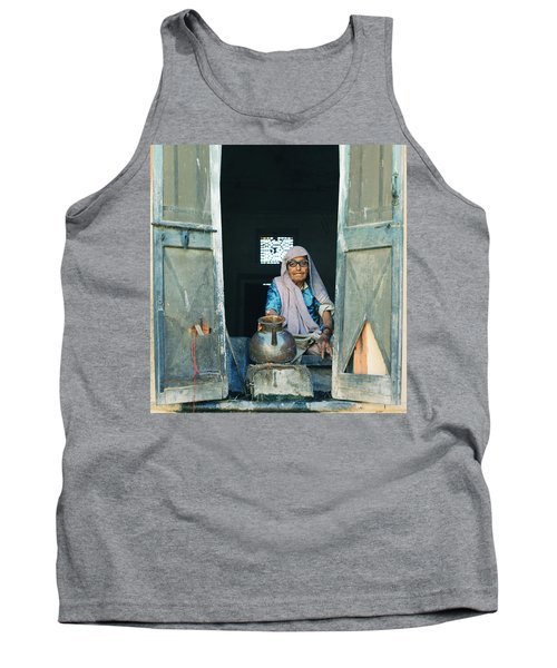 Varanasi Water Seller Tank Top