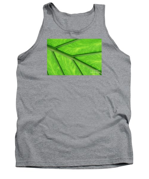 Tank Top featuring the photograph Veins Of Life by Judy Whitton