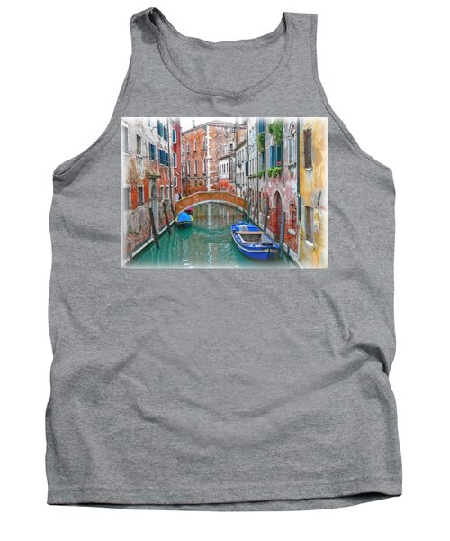 Tank Top featuring the photograph Venetian Idyll by Hanny Heim