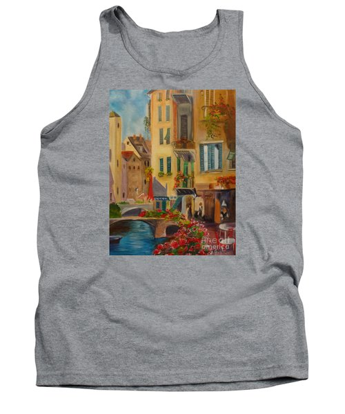 Venic Canal 1 Tank Top by Jenny Lee