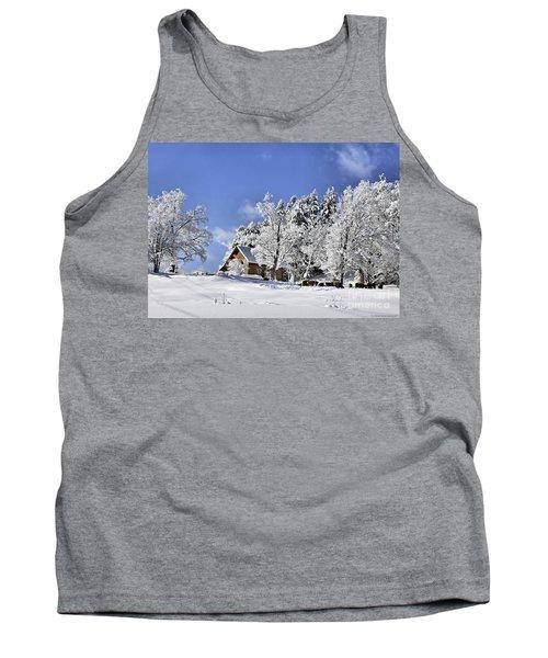 Vermont Winter Beauty Tank Top
