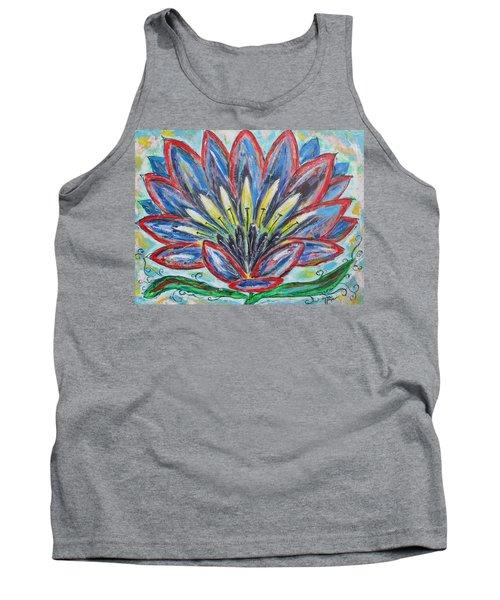 Hawaiian Blossom Tank Top