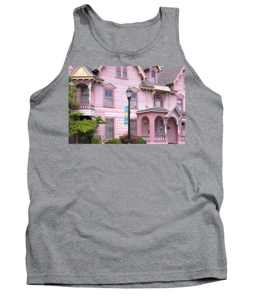 Victorian Pink House - Milford Delaware Tank Top