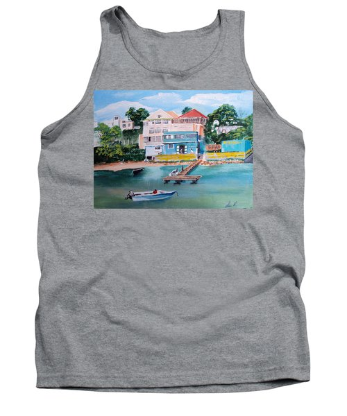 Vieques Puerto Rico Tank Top by Luis F Rodriguez