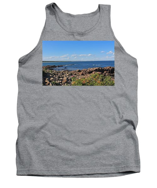 View From Marginal Way Ogunquit Maine 3 Tank Top