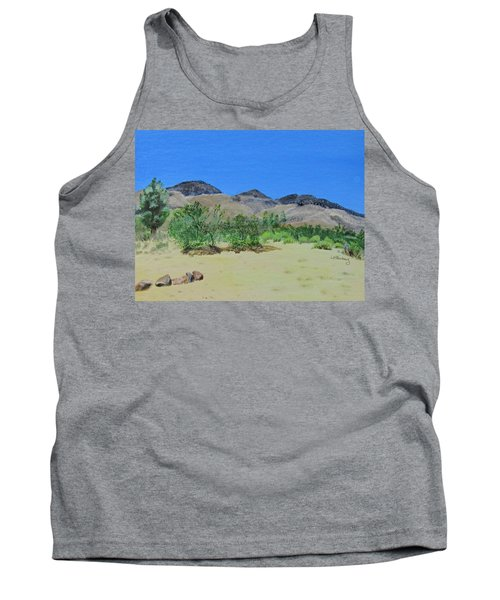 View From Sharon's House - Mojave Tank Top