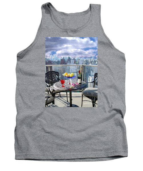 View From The Terrace Tank Top