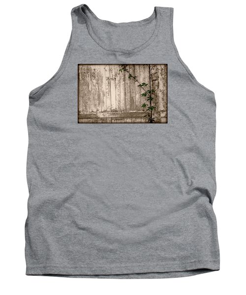 Vine And Fence Tank Top by Amanda Vouglas