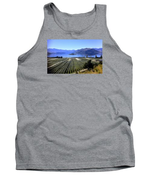 Vineyard View Of Ruby Island Tank Top by Venetia Featherstone-Witty