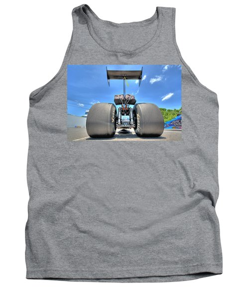 Tank Top featuring the photograph Vintage Drag Racer by Gianfranco Weiss