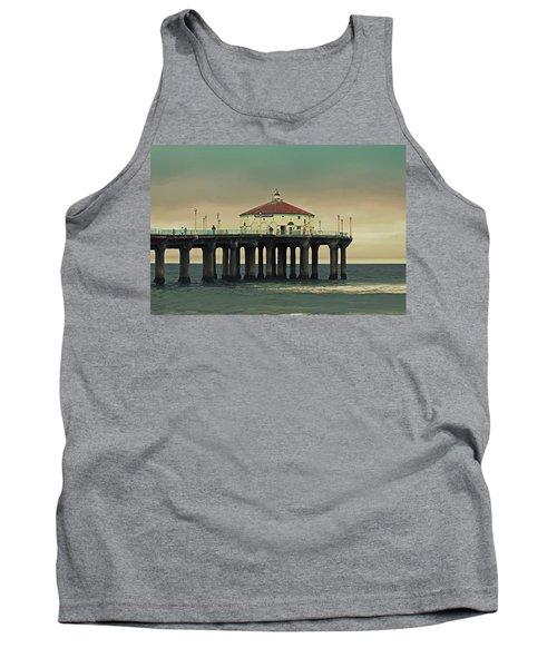 Vintage Manhattan Beach Pier Tank Top