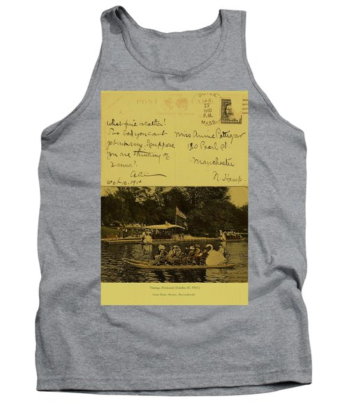 Vintage Postcard  October 10 1910 Tank Top