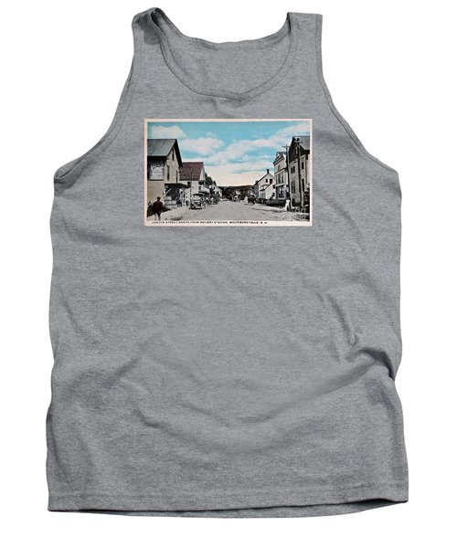 Vintage Postcard Of Wolfeboro New Hampshire Art Prints Tank Top by Valerie Garner