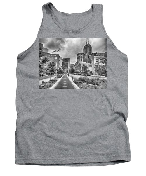 Tank Top featuring the photograph Virginia Ave. by Howard Salmon