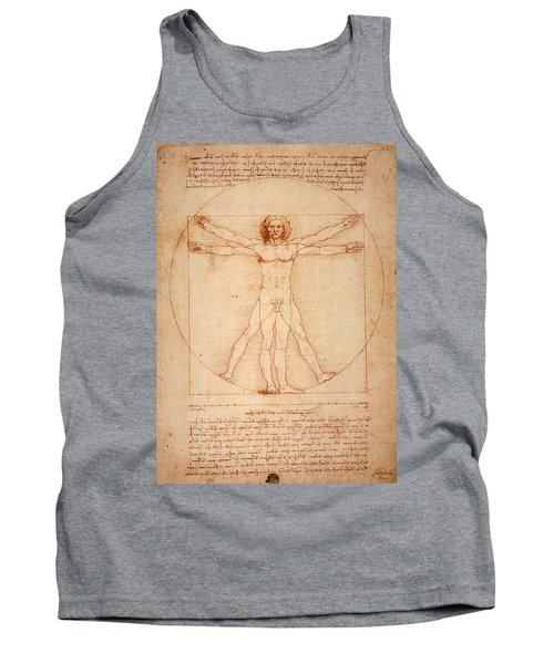 Vitruvian Man Tank Top