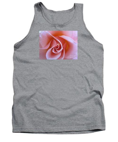 Vivacious Pink Rose Tank Top