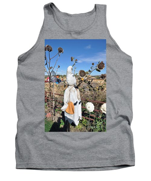 Tank Top featuring the photograph Waiting For Darkness by Minnie Lippiatt