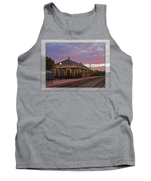 Waiting On The Train Tank Top
