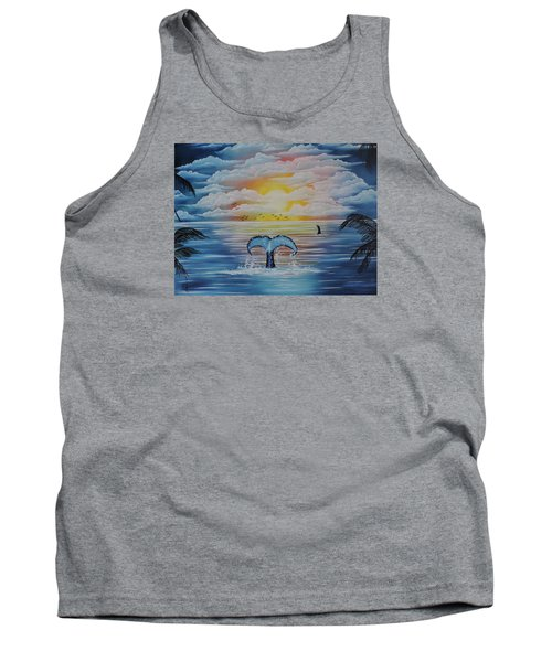 Wale Tales Tank Top by Dianna Lewis