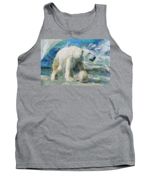 Tank Top featuring the painting Cold As Ice by Greg Collins
