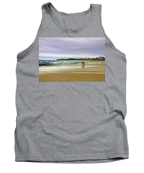 Walking The Dog After A Storm Tank Top