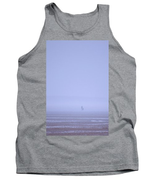 Walking The Dog In The Mist Tank Top