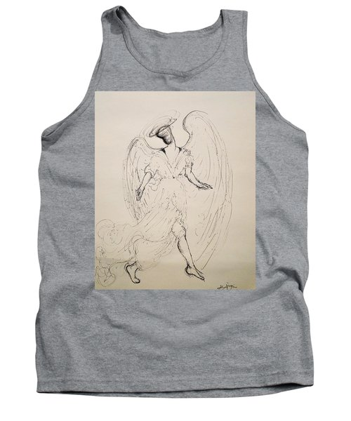 Walking With An Angel Tank Top