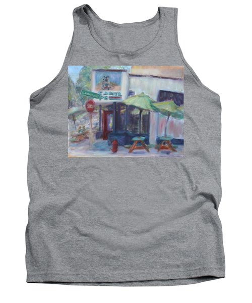 Warm Afternoon In The City  Tank Top