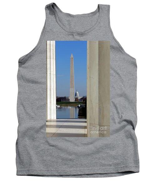 Washington Landmarks Tank Top