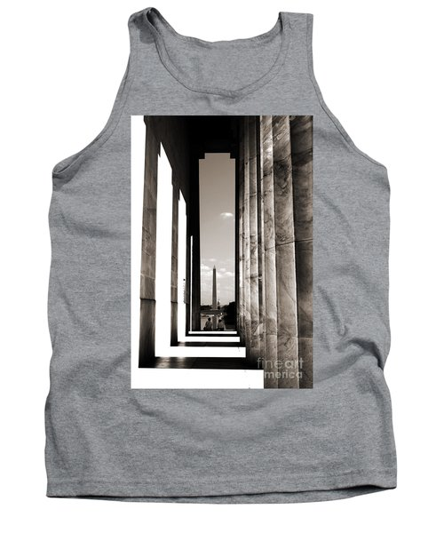 Washington Monument Tank Top by Angela DeFrias
