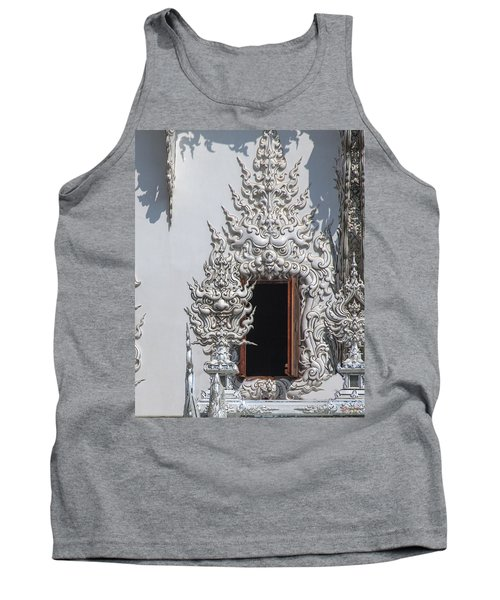 Wat Rong Khun Ubosot Window Dthcr0042 Tank Top