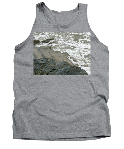 Tank Top featuring the photograph Watch Your Step by Brenda Brown