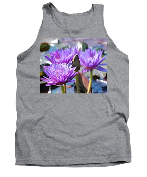 Tank Top featuring the photograph Water Flower 1006 by Marty Koch